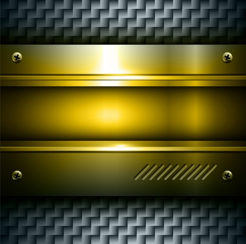 �������� - ������� ����� � ������� / Textures - Color metal in Vector