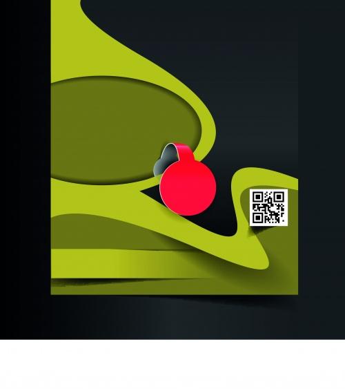 Креативный буклет и постер 4 | Creative booklet and poster vector 4