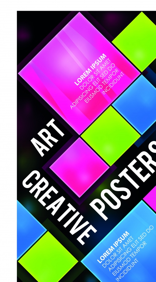 Постер бизнес 4 | Poster business vector 4