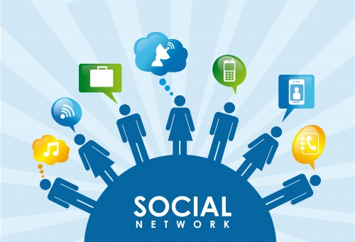 the internet technology and the social network craze in the society