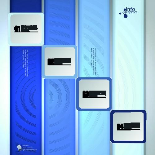 Инфографики креативный дизайн часть 47 | Infographic creative design vector set 47