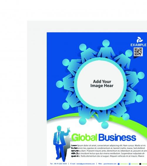 Обложка флаер часть 14 | Flyer or cover design vector set 14
