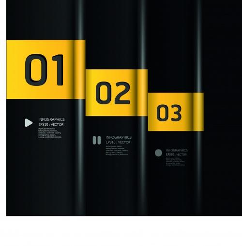 Инфографики креативный дизайн часть 49 | Infographic creative design vector set 49