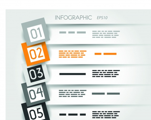 Инфографики и диаграммы часть 55 | Infographic and diagram design elements vector set 55