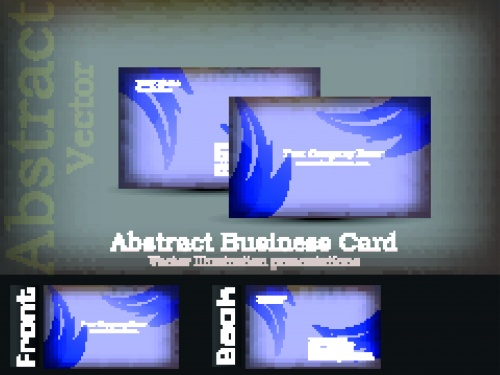 Business cards and corporate identity vector set 7