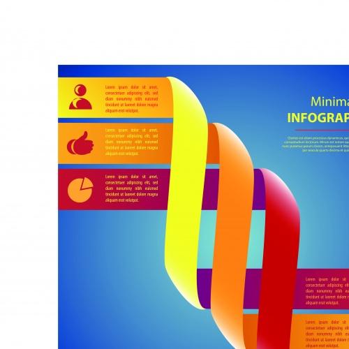 Инфографики креативный дизайн часть 43 | Infographic creative design vector set 43