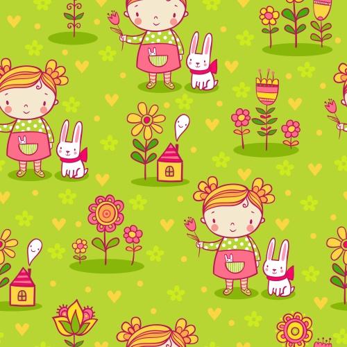 Цветочные фоны ко дню рождения в векторе/ Happy birthday floral backgrounds in vector5_happy_birthday