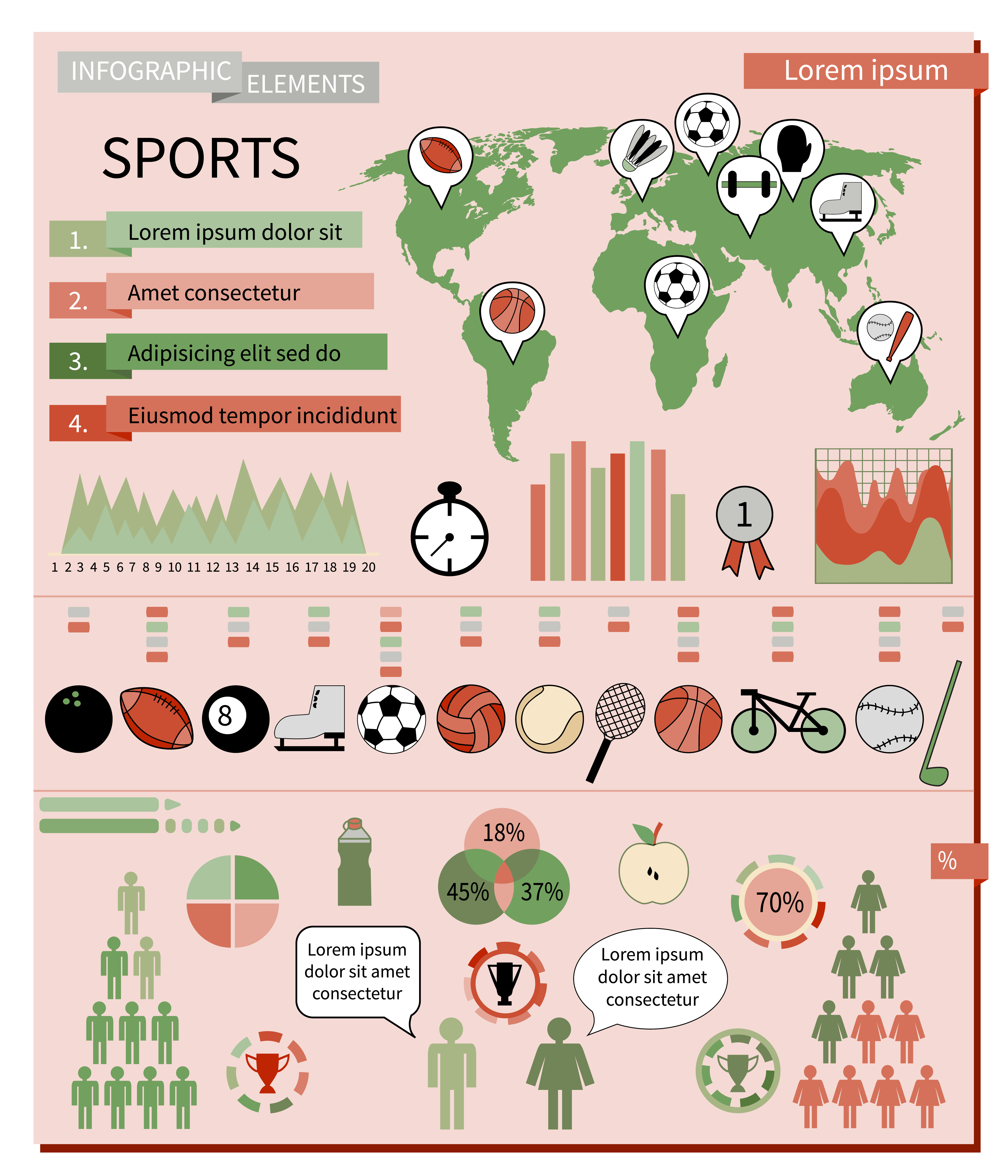 Infographic sports