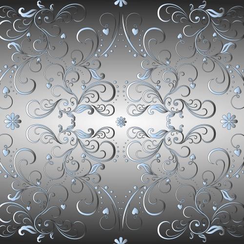 Цветочные узоры в Векторе / Flower patterns in Vector