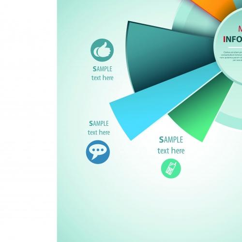 Инфографики креативный дизайн часть 39 | Infographic creative design vector set 39