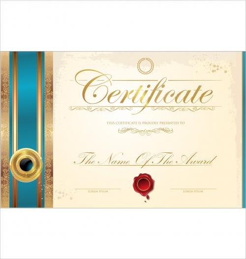 Certificate vector 17