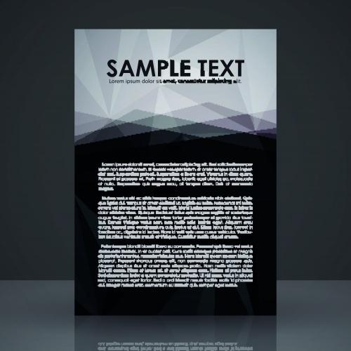 Брошюра обложка часть 23 | Brochure cover vector set 23