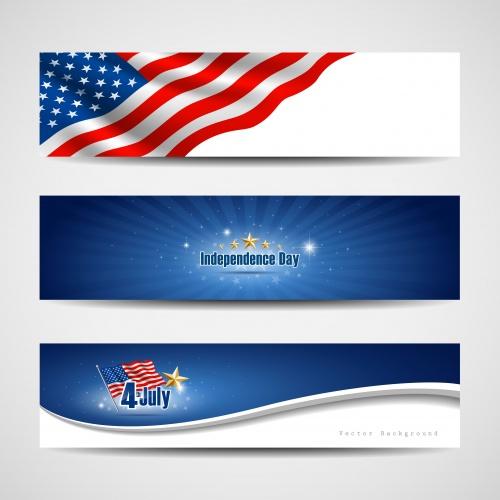 День Независимости США - векторный клипарт / Independent day of USA - vector stock
