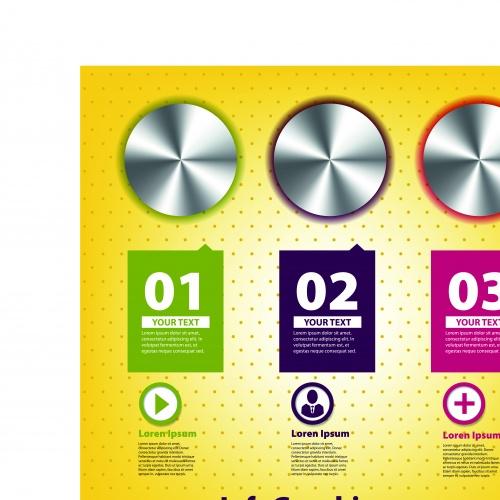Инфографики креативный дизайн часть 45 | Infographic creative design vector set 45