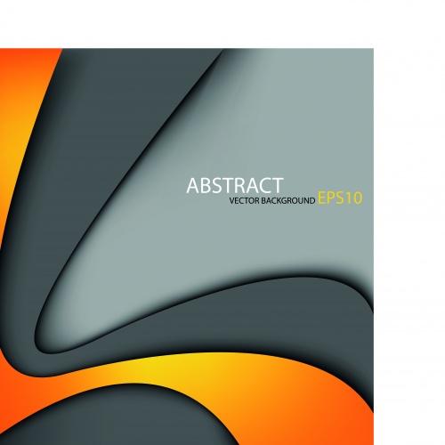 Разноцветные слои векторные фоны | Multicolored layers vector background