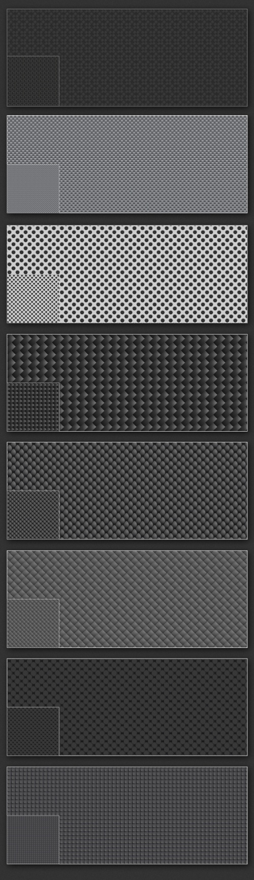 Designtnt - Vector Carbon Patterns