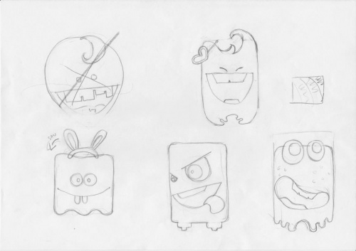 Designtnt - Cute Monsters Creation Kit