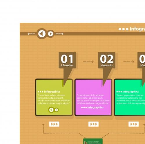 Инфографики креативный дизайн часть 34 | Infographic creative design vector set 34