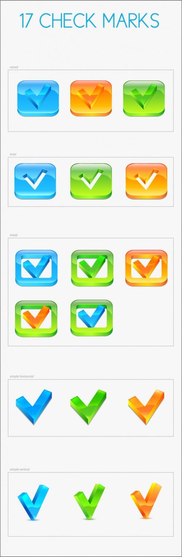 Designtnt - Vector Check Marks