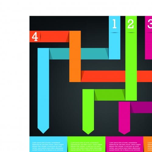 Инфографики креативный дизайн часть 37 | Infographic creative design vector set 37