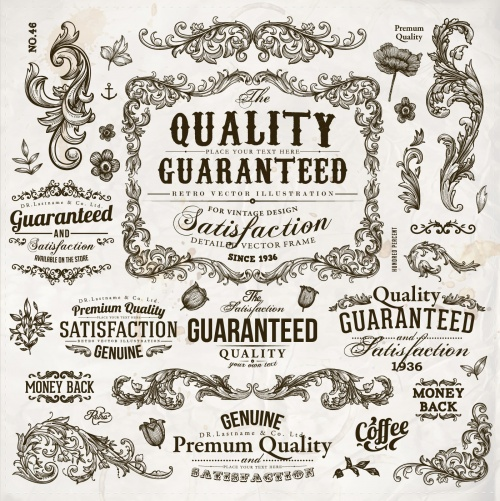 Premium Quality Design Elements Vector