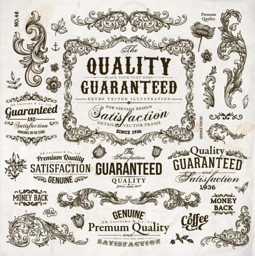 Premium Quality Design Elements Vector
