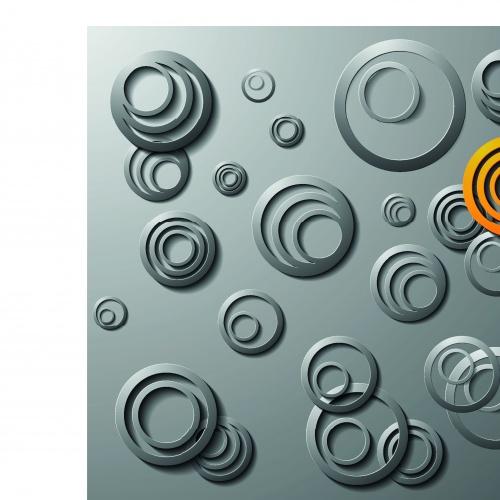 Креативные серые фоны | Creative gray vector backgrounds