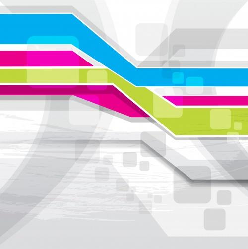 Абстрактные разноцветные фоны часть 6 | Abstract colorful vector background set 6