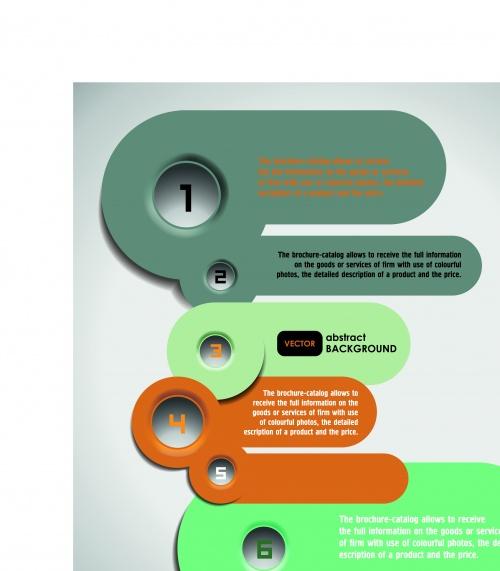 Инфографики креативный дизайн часть 36 | Infographic creative design vector set 36