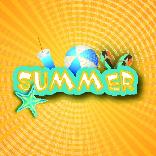 Ленто фоны | Summer vector background