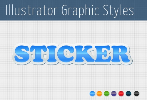 Designtnt - Vector Stickers Graphic Style
