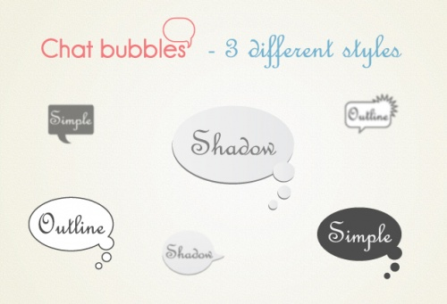 Designtnt - Chat Bubbles