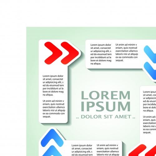 Инфографики креативный дизайн часть 30 | Infographic creative design vector set 30
