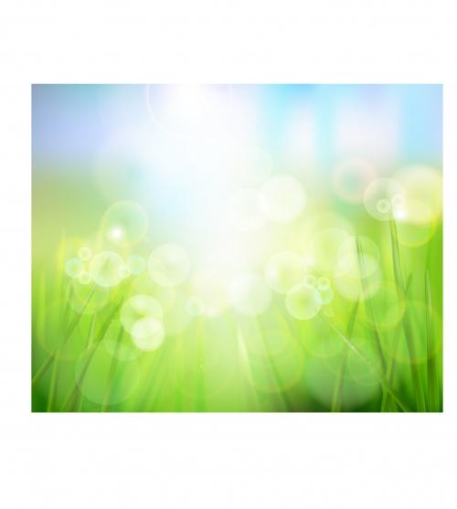 Весенние фоны #2 - Векторный клипарт | Spring backgrounds 2 - Stock Vectors