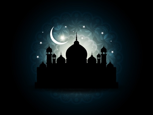 Фон с мечетью 7 | Background with mosque 7
