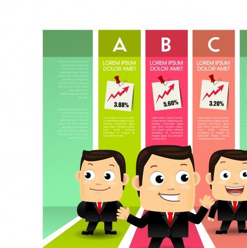 Креативный инфографик часть 28 | Infographic creative design vector set 28
