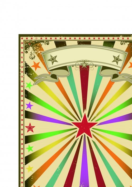 Постеры цирк часть 9 | Circus poster vector set 9vector_set_9