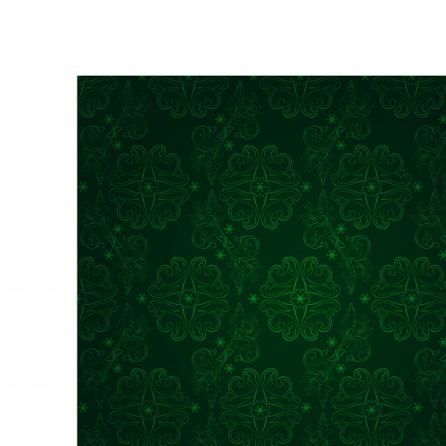 Зелёные бесшовные фоны с узорами | Green seamless pattern background vector