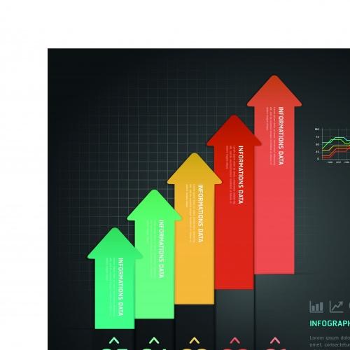 Креативный инфографик часть 26 | Infographic creative design vector set 26