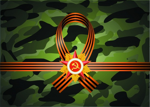 Victory Day Camouflage Backgrounds