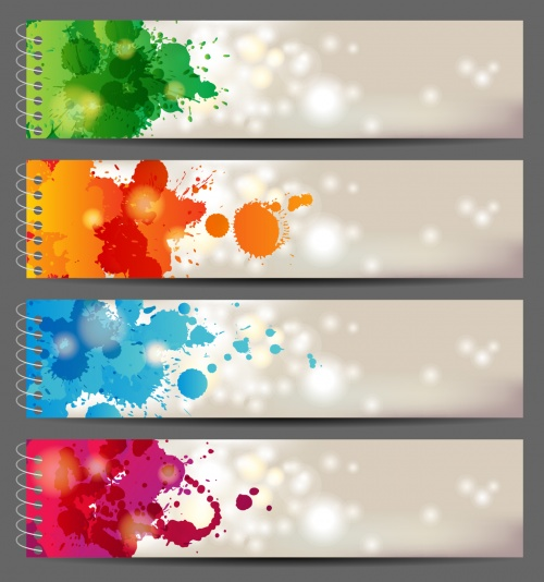 Color spots & banners