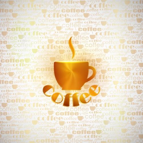 Меню с кофе в векторе / Cofee list menu in vector