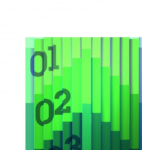 Разноцветные полосы фоны часть 2 | Colorful striped vector background set 2
