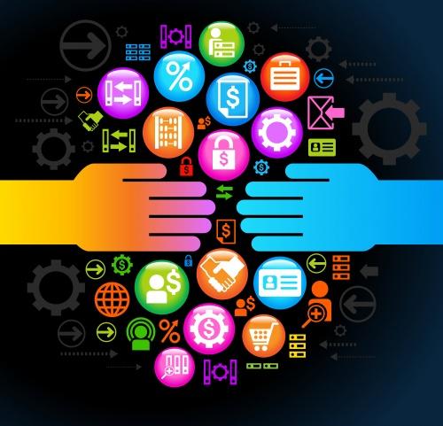 Социальная коллекция СМИ в векторе | Social media collection in vector