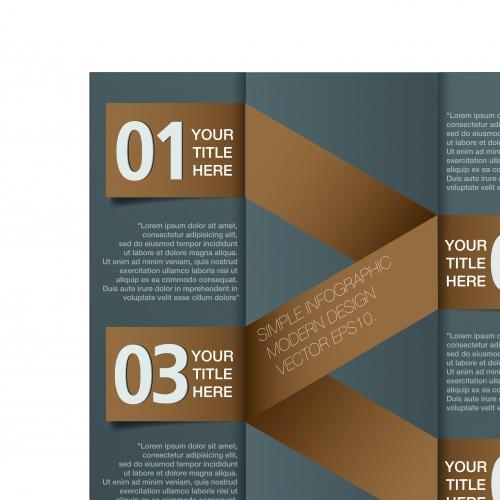 Инфографики креативный дизайн часть 24 | Infographic creative design vector set 24