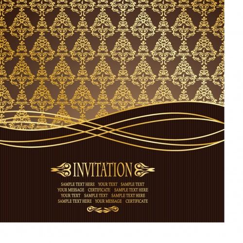 Elegant greeting card