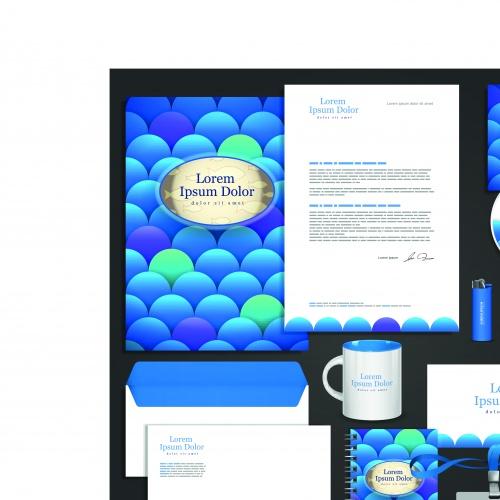 Корпоративный стиль часть 10 | Corporate identity template vector set 10