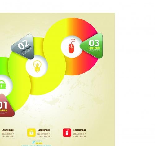 Креативные инфографики часть 21 | Creative Infographics vector set 21