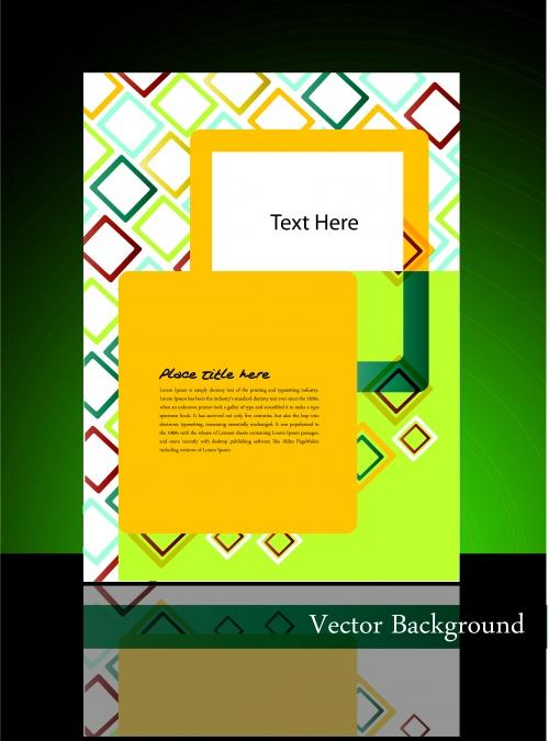 Шаблоны постеры | Poster template vector