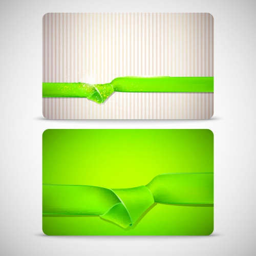�������� � ������� � ������� | Ribbon cards and banners vector